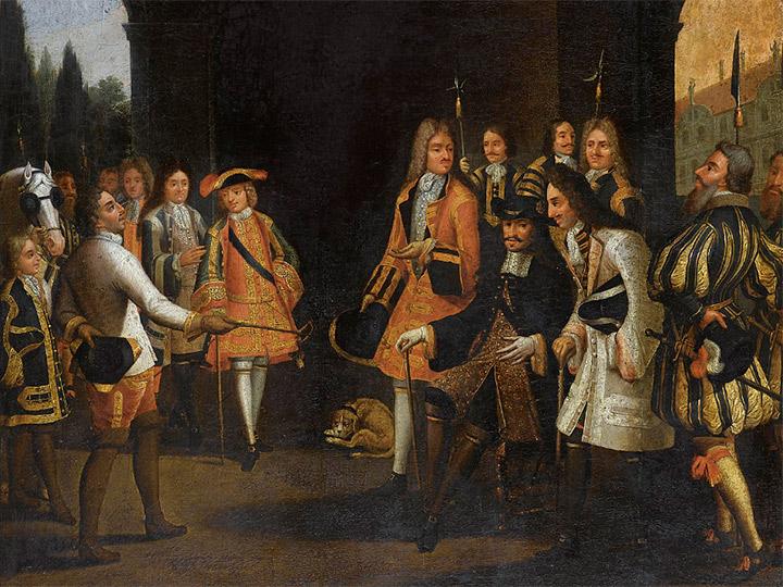Francuska Luja XIV i nova Rusija Petra Velikog