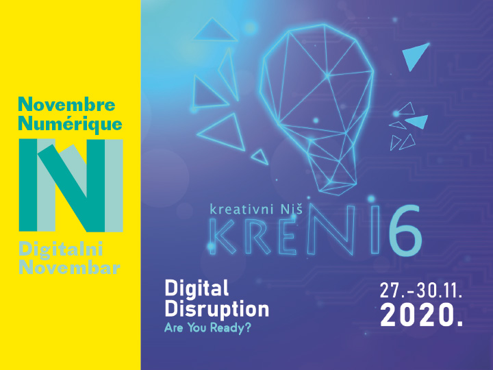 "Predavanje KreNi ""Digital Disruption"""