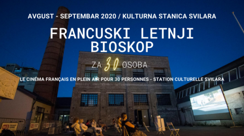 Cinéma français en plein air pour 30 personnes