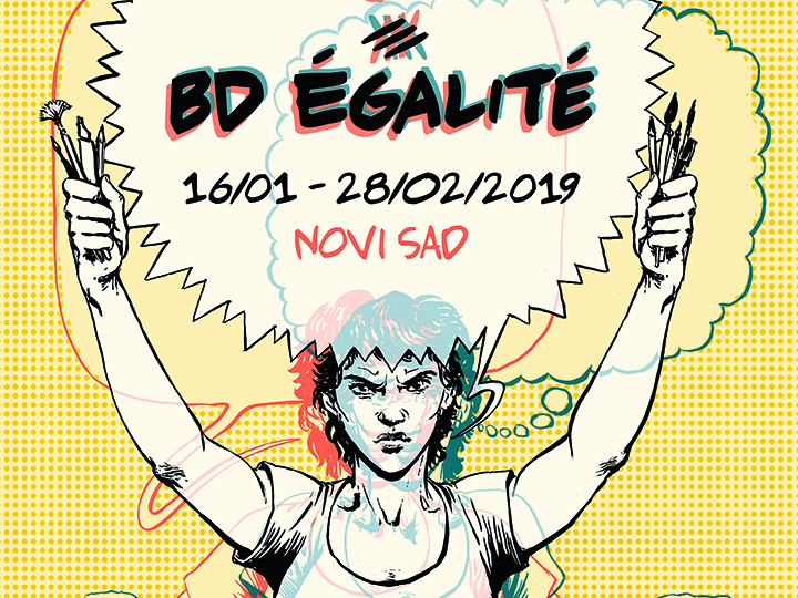 Strip izložba: Ona se budi/BD égalité