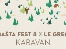 Festival Bašta Fest i Le Grec